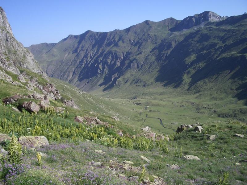 La Rinconada, inicio de la subida a los ibones